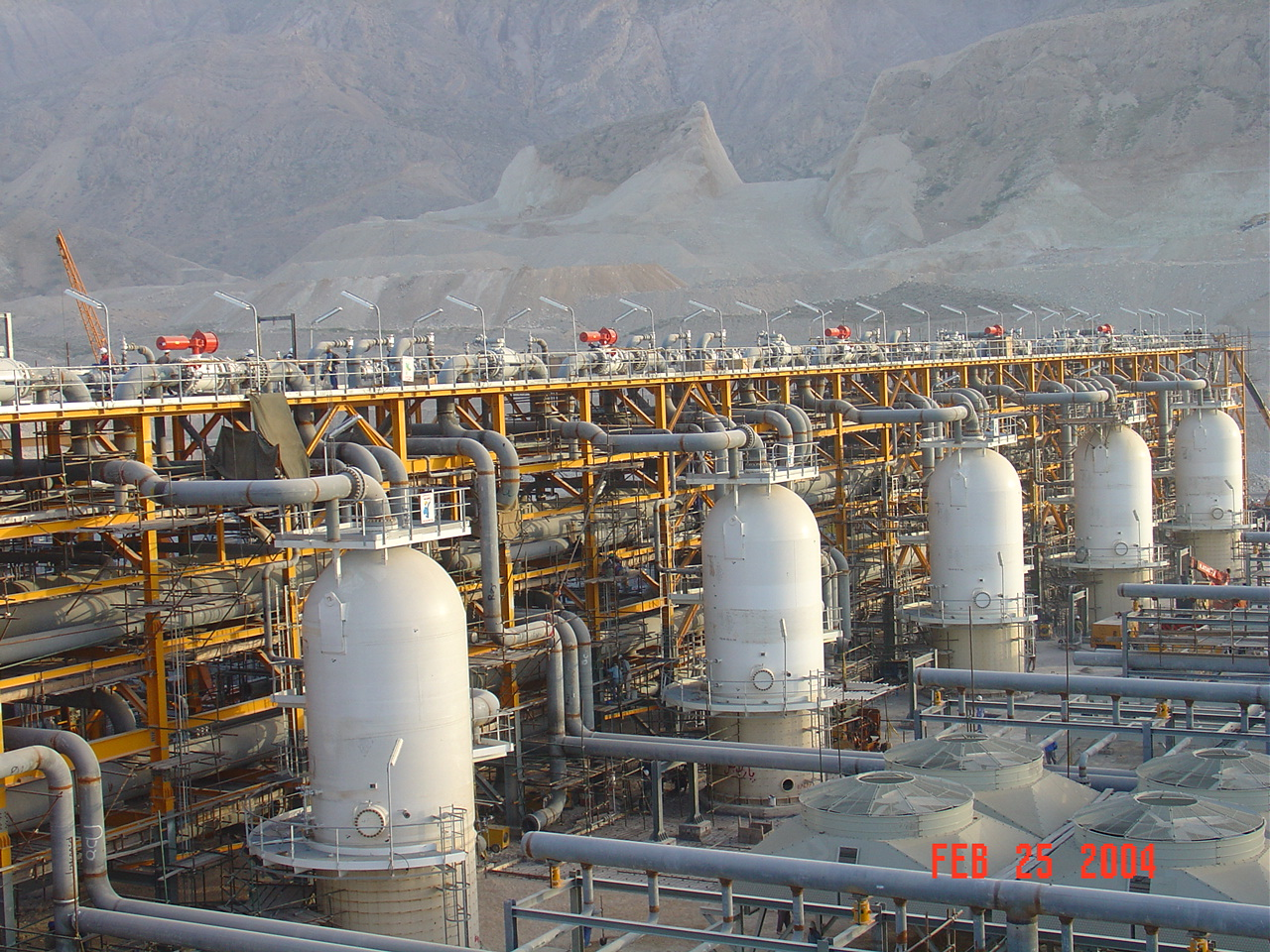 Pre-Compaction Unit of 900 Gas and Liquefied Gas Plant -NGL 900